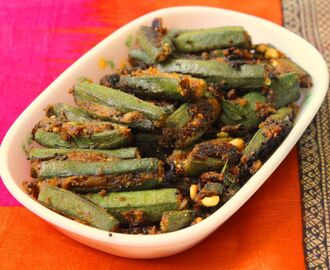 Stuffed Bhindi / Lady's Finger Fry