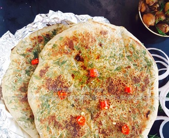 Tava Aloo Kulcha Recipe / Stuffed Leavened Indian Flatbread Cooked On A Griddle Recipe ~ Just Recipes