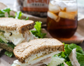 Greek Inspired Rotisserie Chicken Sandwich & a Coupon Giveaway