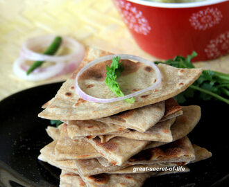 Tandoori Roti recipe - Homemade Tandoori roti recipe - Stove top tandoori roti recipe - Tandoori roti without yeast