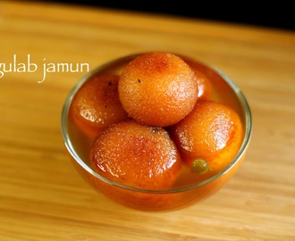 gulab jamun recipe | gulab jamun with milk powder recipe