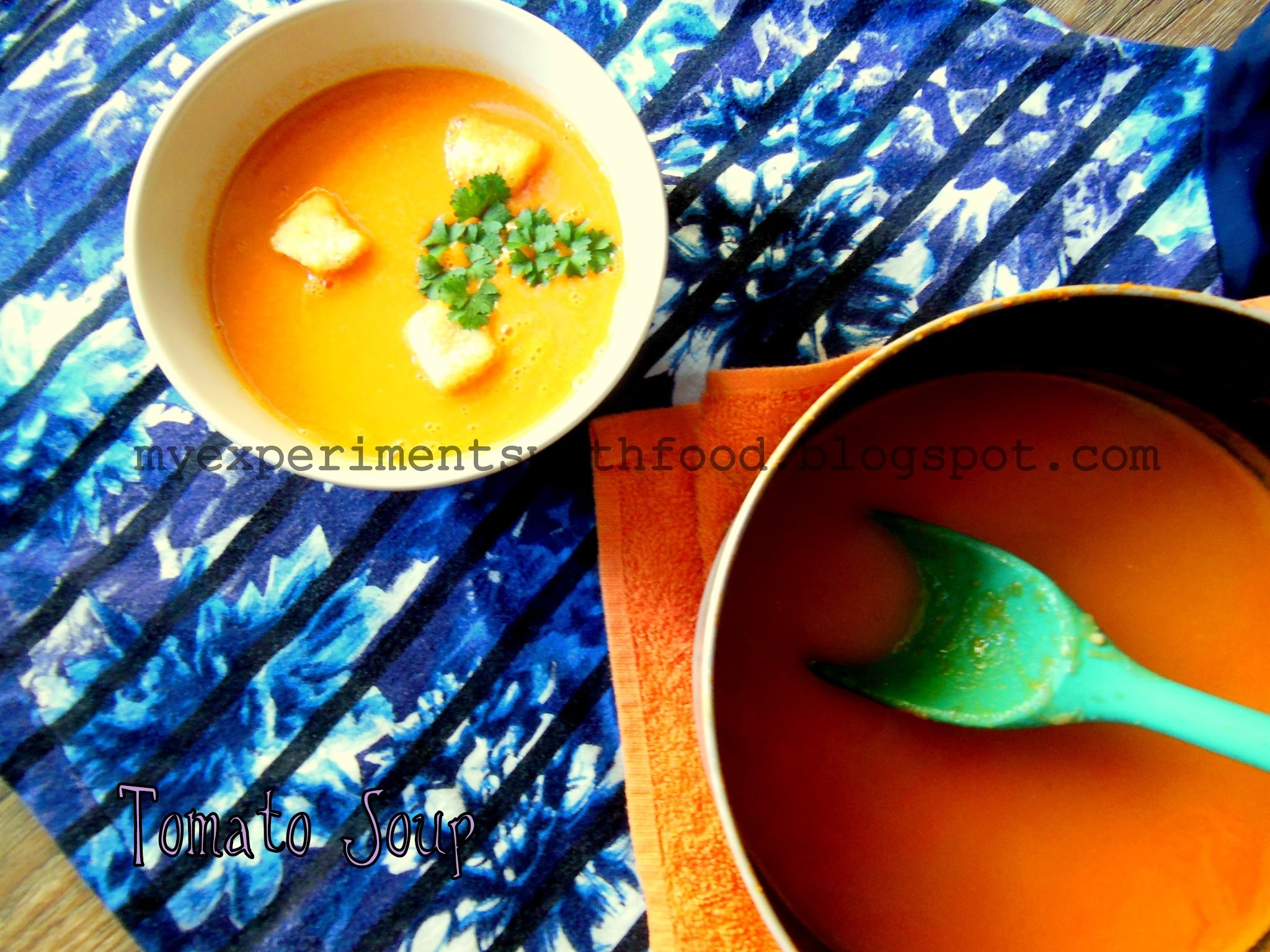 Healthy Homemade Tomato soup