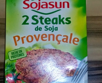 Burgers  géants au steak de soja  Sojasun