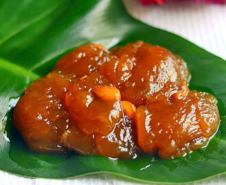 Tirunelveli Halwa Recipe - Wheat Flour/Godhumai Halwa - Easy Version