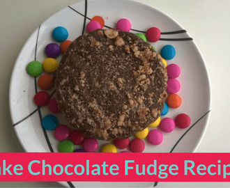 No Bake Chocolate Fudge Recipe
