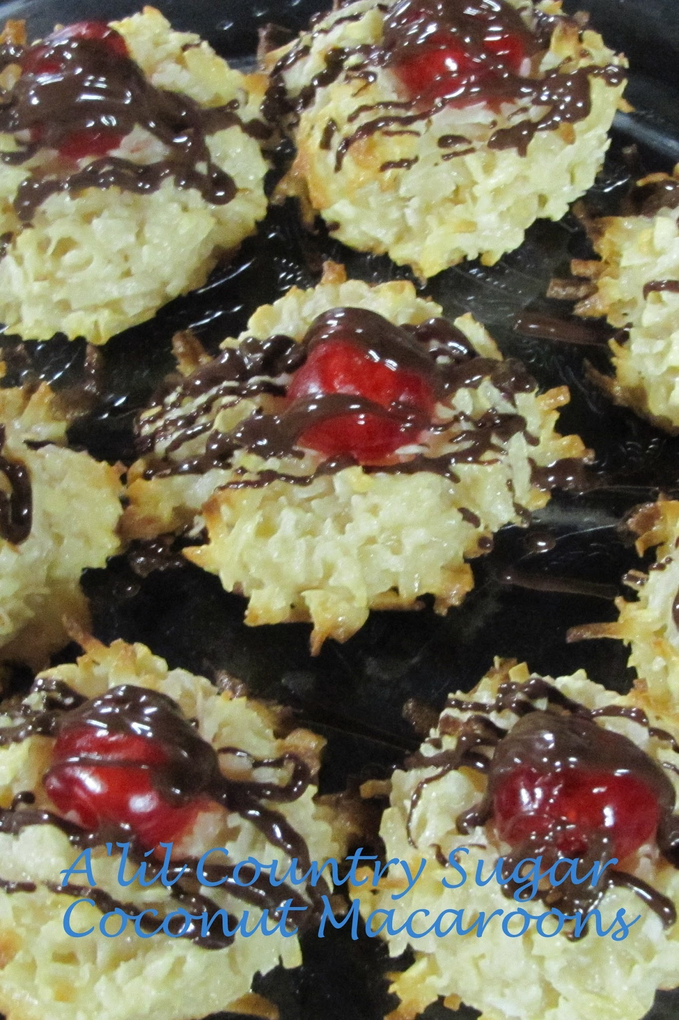Foodie Friends Friday: Coconut Macaroons