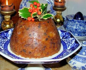 The Old Manor House Traditional Victorian Christmas Pudding