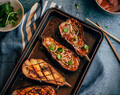 Miso Glazed Eggplant {gluten-free + vegan option}