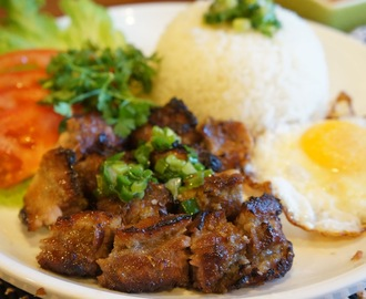 Vietnamese Barbeque pork with Rice (Com thit nuong)
