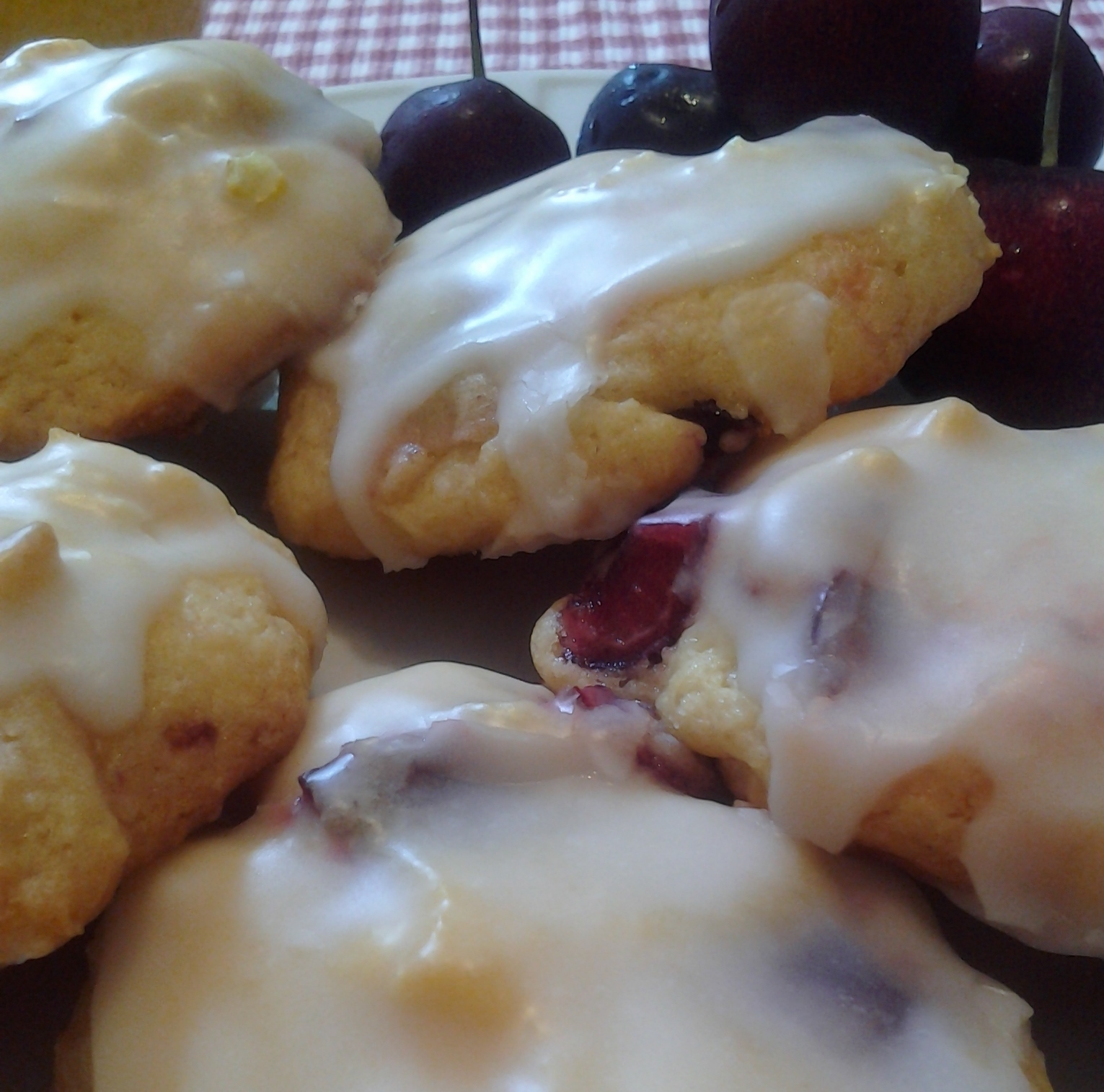 Cherry Lemonade Cookies