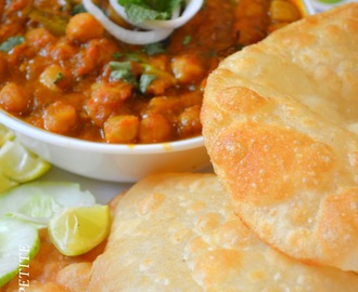 Chole Bhature / Punjabi Bhature Recipe / step by step