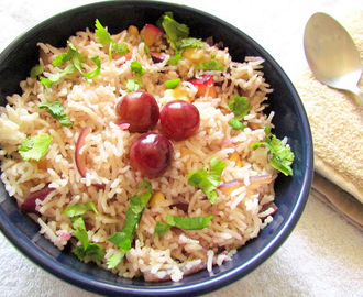 "Kashmiri Pulao and About the event "" Maitri"""