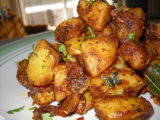 Potato Roast (Urulai fry)