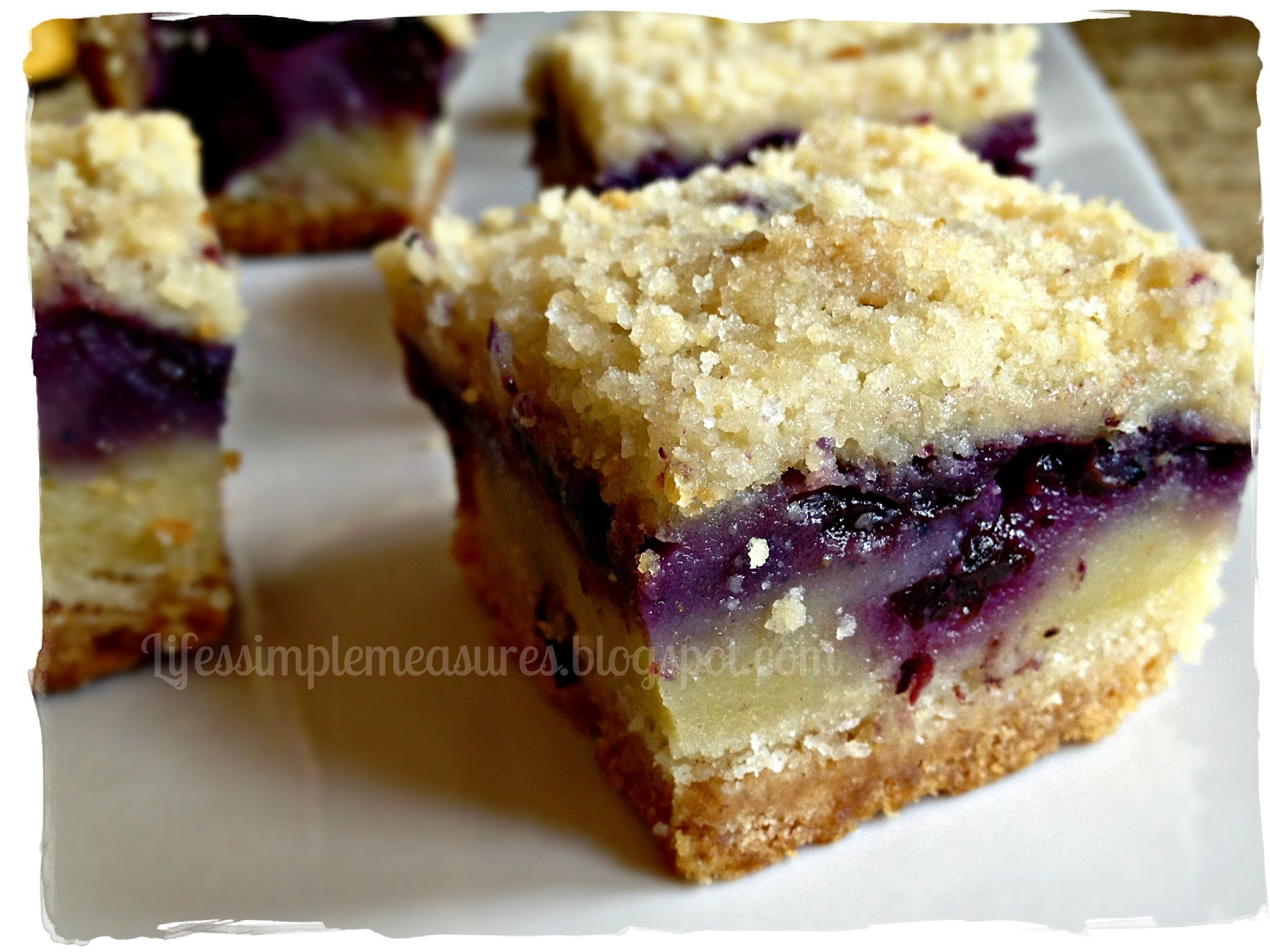 Blueberry Pie Bars
