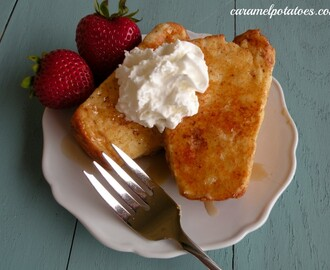 French Toasted Angel Food Cake