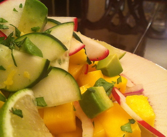 Tropical Mango Snack Salad! GF, V, SCD!