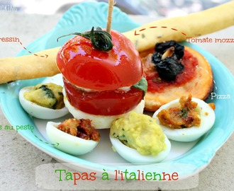 Tapas à l'italienne {Battle Food#21}