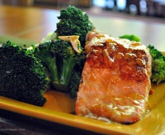 Salmon is the New Chicken – Asian Inspired Broccoli and Salmon