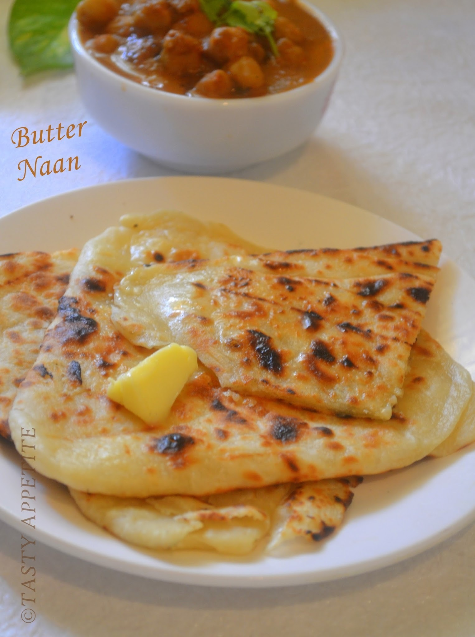 How to make Naan / Butter Naan at home: