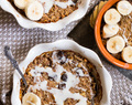 Apple Cinnamon Breakfast Bake {Paleo, Vegan, No Added Sugar}