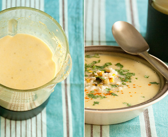 Lend Me Your Ears: Mexican Grilled Corn Soup
