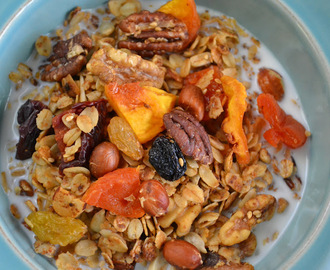 Summer Fruit Granola