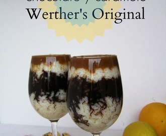 Pudding de arroz, chocolate y caramelo Werther's Original