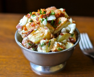 Roasted Bacon Ranch Potato Salad