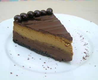 Crazy Cooking Challenge: Layered Mocha Cheesecake