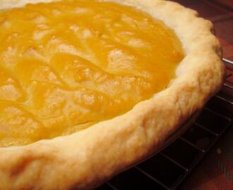 Single Flaky Pie Crust (Food Processor)