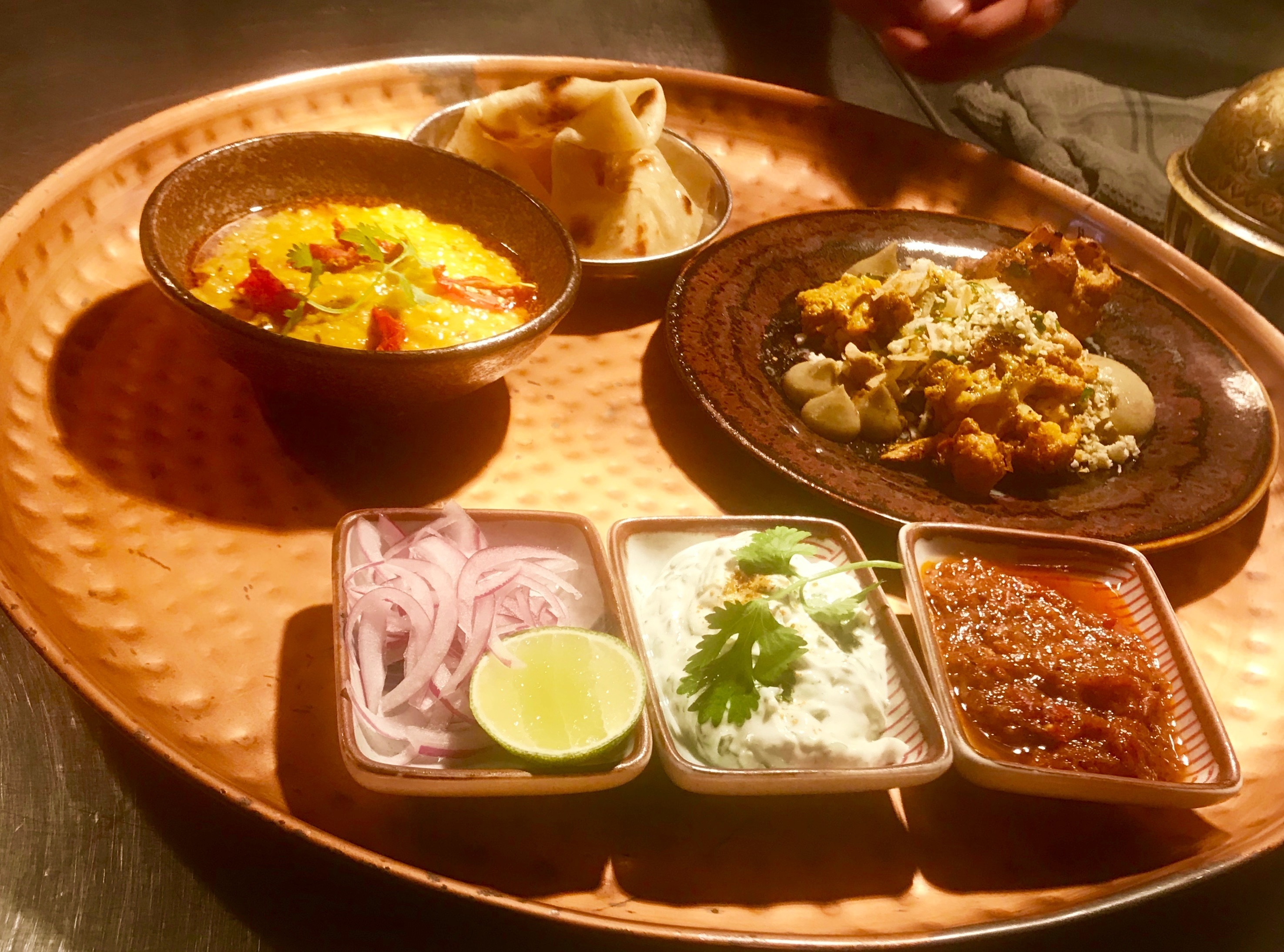 Tasty Indian cuisine tapas-style at Thali