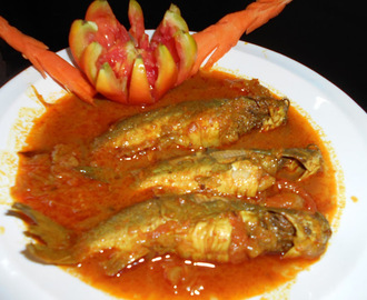 Tangra  Macher Jhal /  Or  Tangra Macher Jhol /  Tangra Fish Or Cat Fish Curry