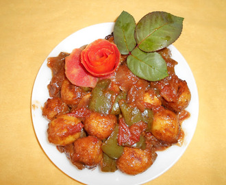 Paramita's  Kitchen: Potato Manchurian