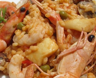 Paella dominguera Thermomix
