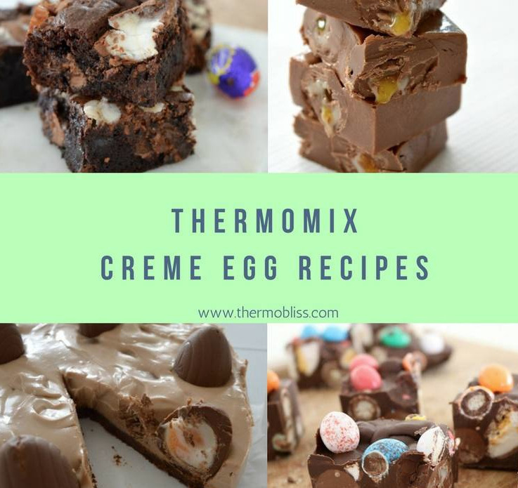 Thermomix Creme Egg Recipes