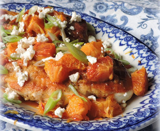 Bood Orange & Feta Chicken