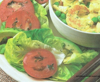 Bibb Lettuce, Avocado, and Tomato Salad Recipe