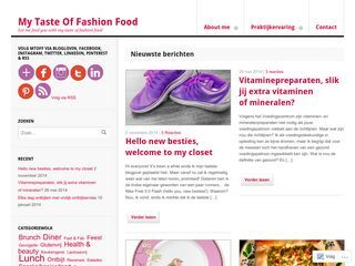 My Taste Of Fashion Food | Let me feed you with my taste of fashion food