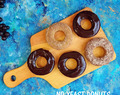 No Yeast Whole Wheat Donuts | eggless, baked doughnuts recipe