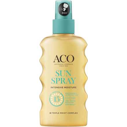 ACO Sun Spray SPF15, 175ml