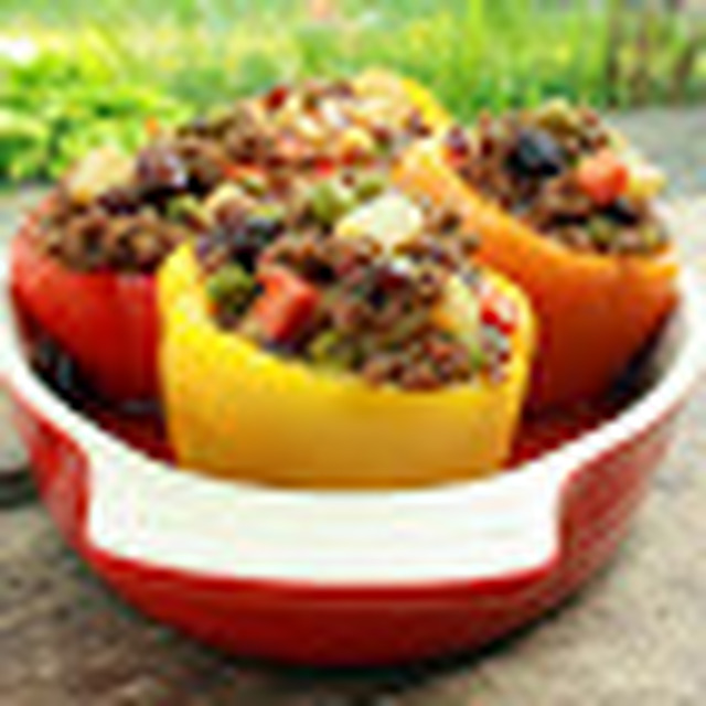 Stuffed Bell Peppers (Pinoy Style)