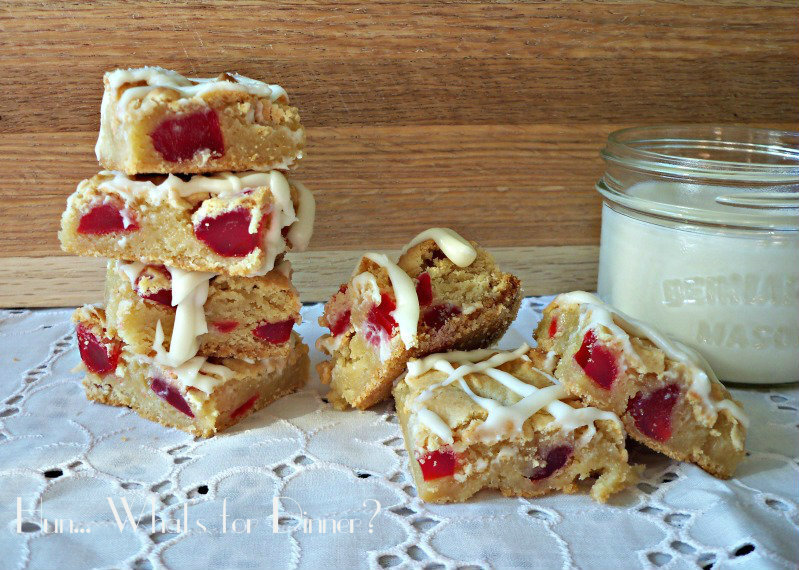 Swedish Berry Blondies