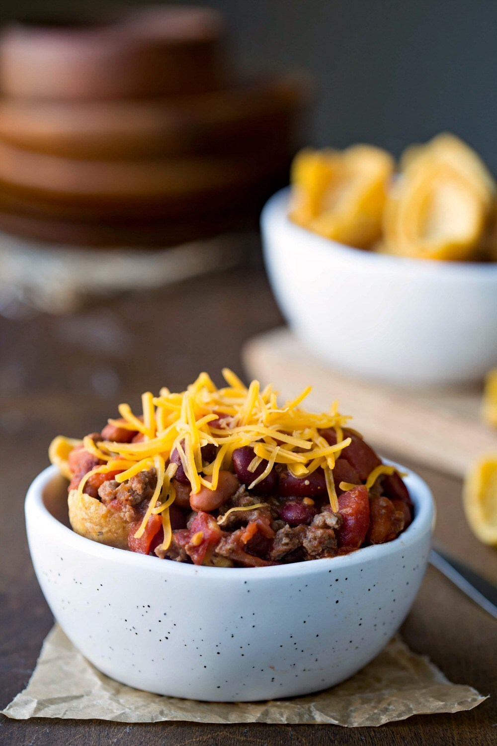 Frito Chili Pie Crockpot or Stove