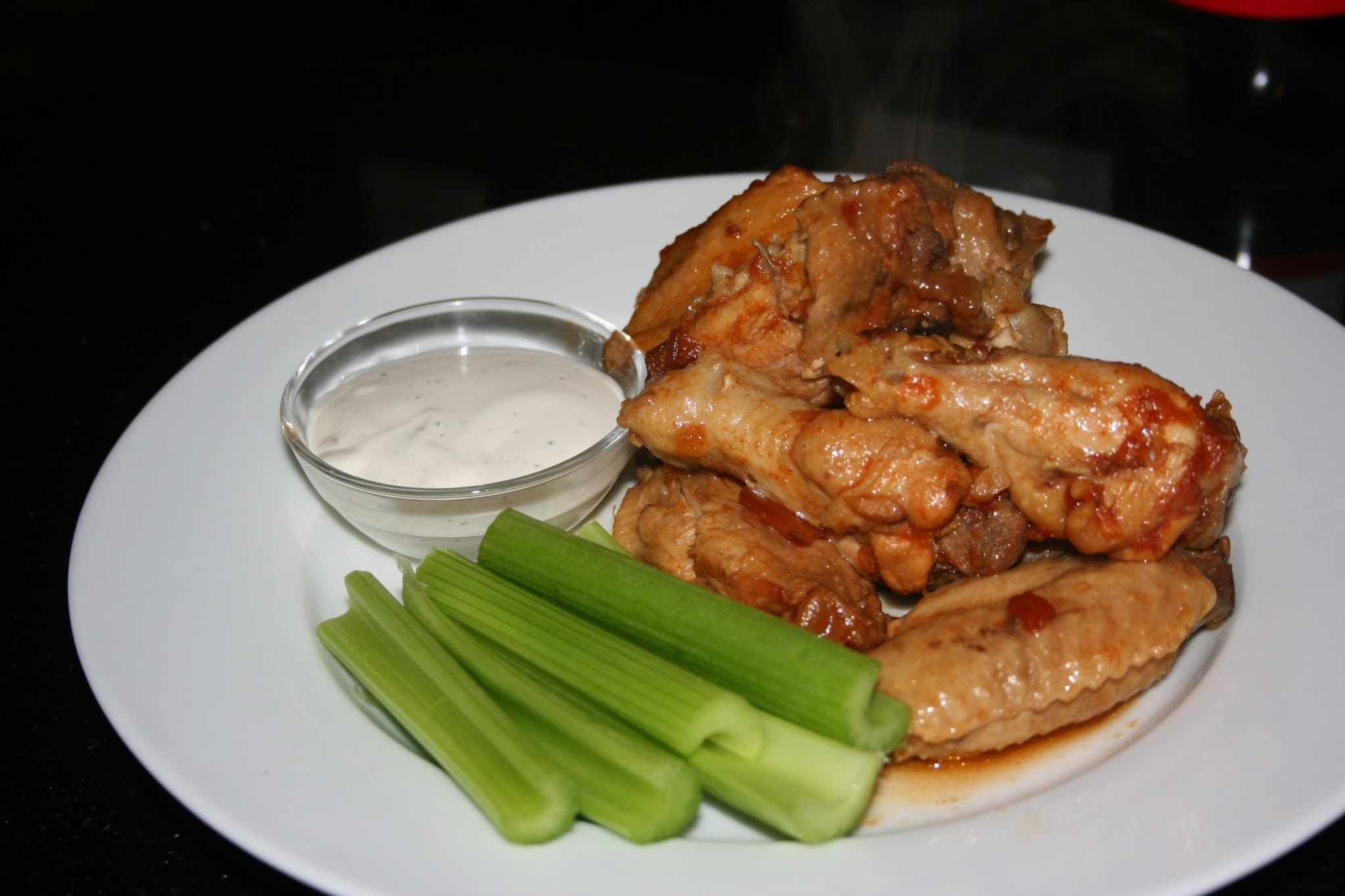 Sweet and Spicy Chicken Wings CrockPot Recipe