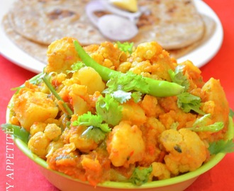 Aloo Gobi / Easy Stepwise Recipe