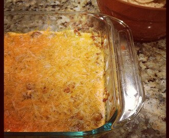 Three Layered Mexican Dip