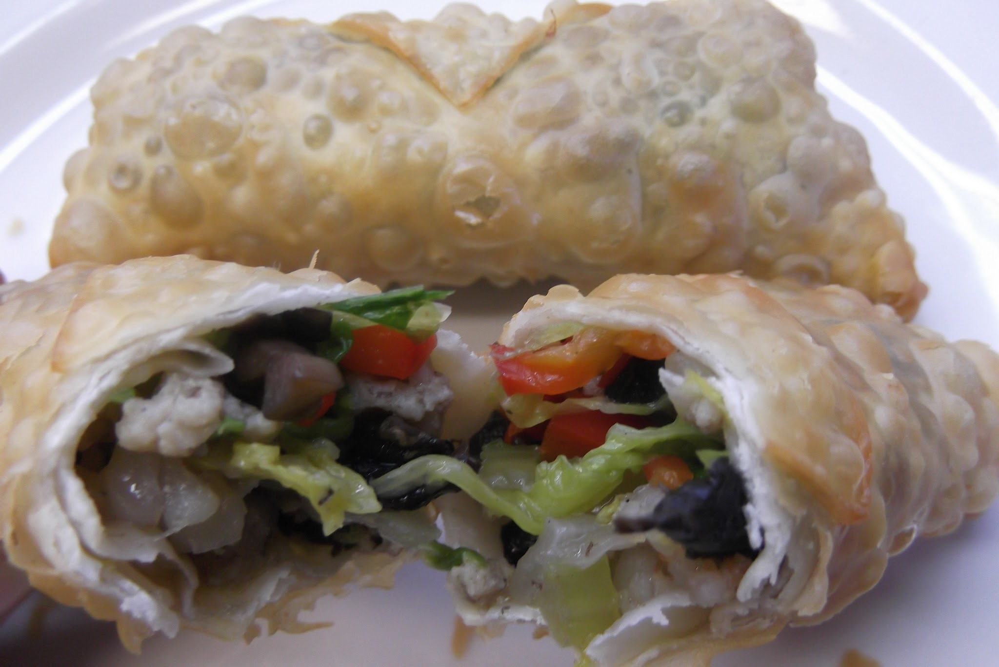 Pork, Shrimp and Vegetable Egg Rolls
