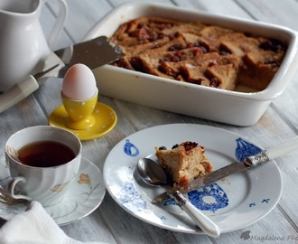 PUDÍN DE PAN Y MANTEQUILLA - BREAD AND BUTTER PUDDING