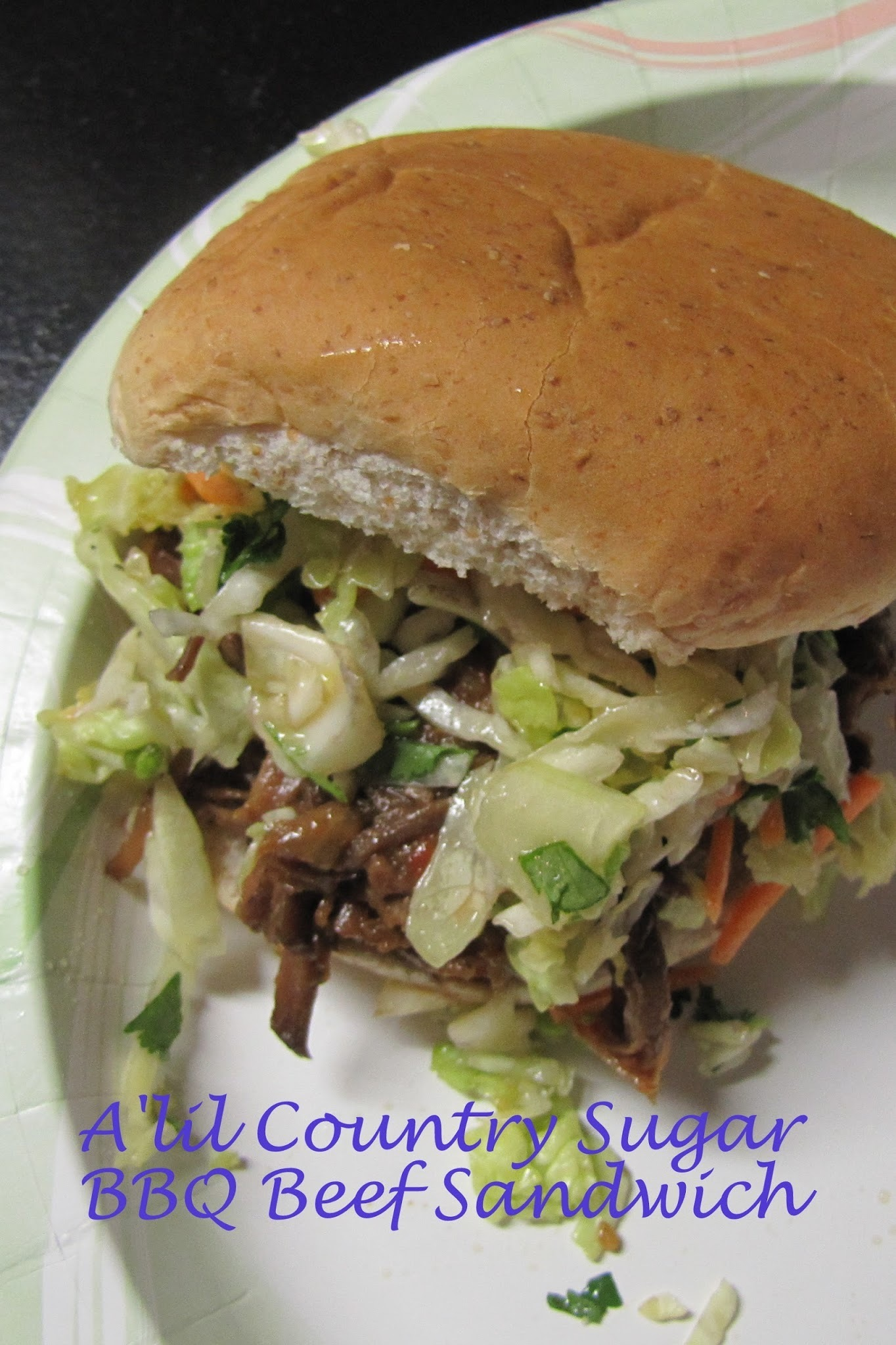 Stop Being LAZY! Bar-B-Q Beef Sandwich