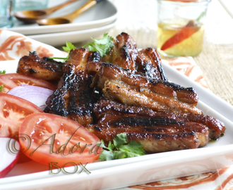 GRILLED PORK BELLY RASHERS (INIHAW NA LIEMPO)
